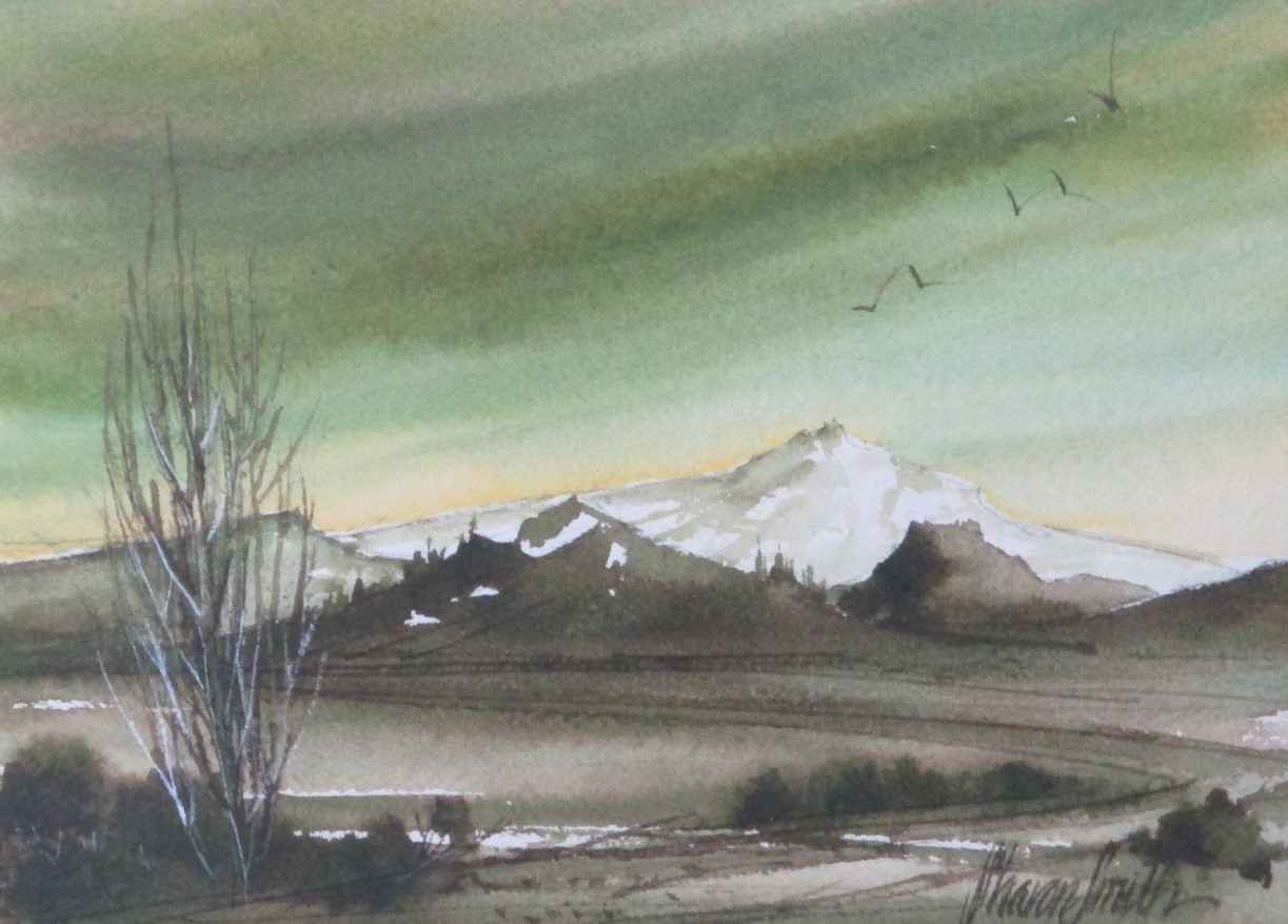 Untitled (mountain) by  Sharon Smith - Masterpiece Online