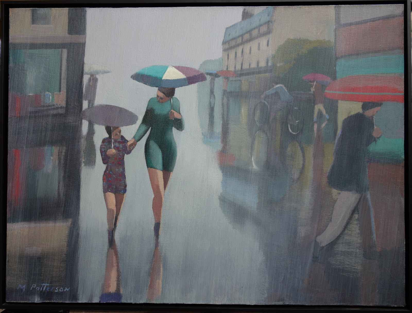 Paris Rain, Mother & ...