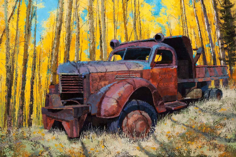 Aspen Has Been by  Martin Lambuth - Masterpiece Online