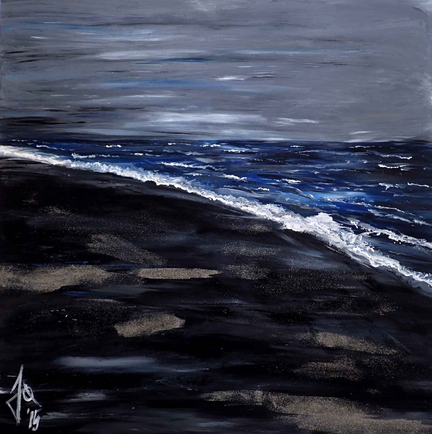 Black Beach by Mme Ioana JITARU - Masterpiece Online