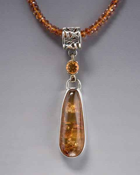 #1 Citrine and Amber ... by Ms. Catherine Laing - Masterpiece Online