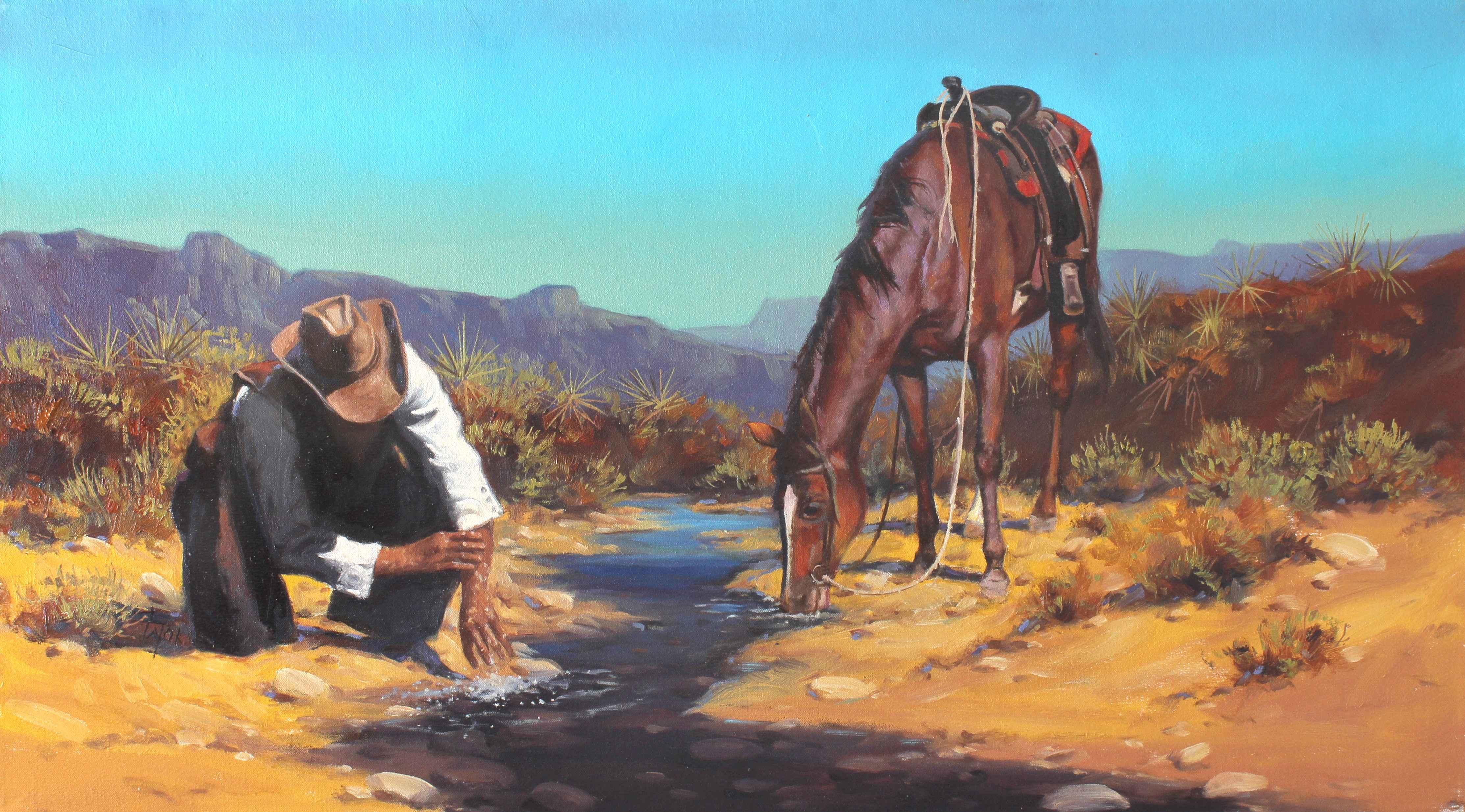 Refreshing  by  Harold Lyon