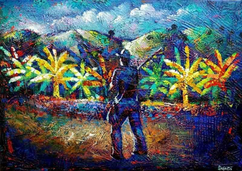 Brother Jean's Garden by Mr Raphael Sagage - Masterpiece Online