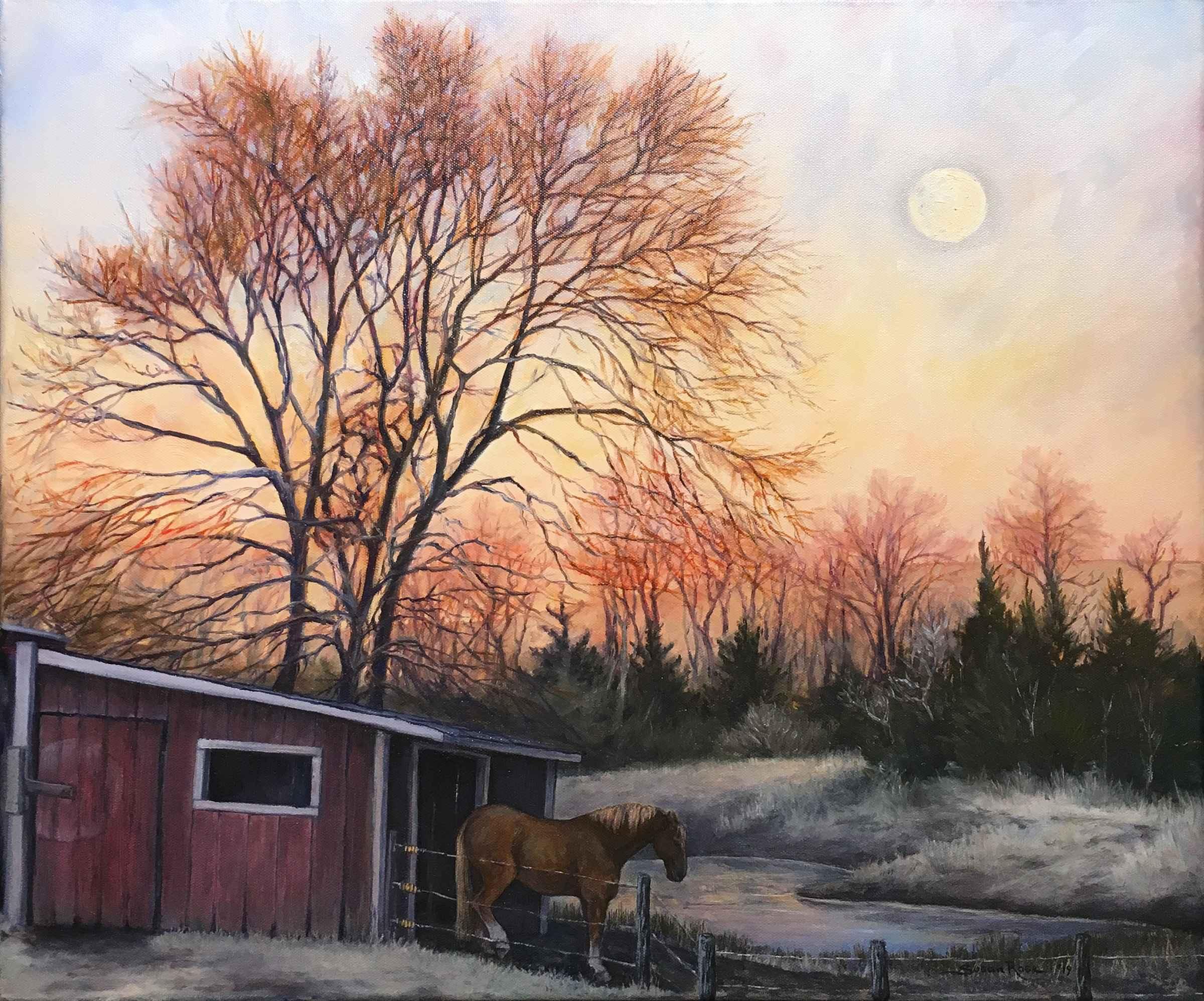 December Morning by  Susan Rose - Masterpiece Online