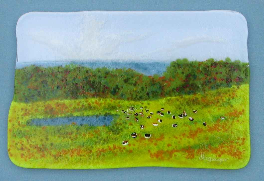 Autumn Geese at Keith... by  David Geiger - Masterpiece Online