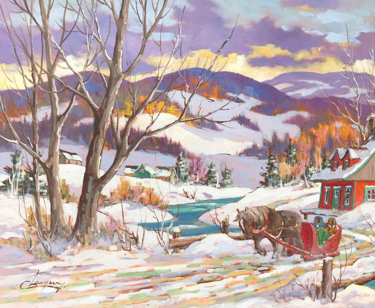 Promenade by  Claude Langevin - Masterpiece Online
