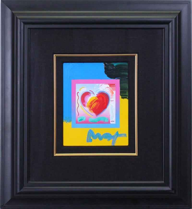 Heart on Blends by  Peter Max - Masterpiece Online