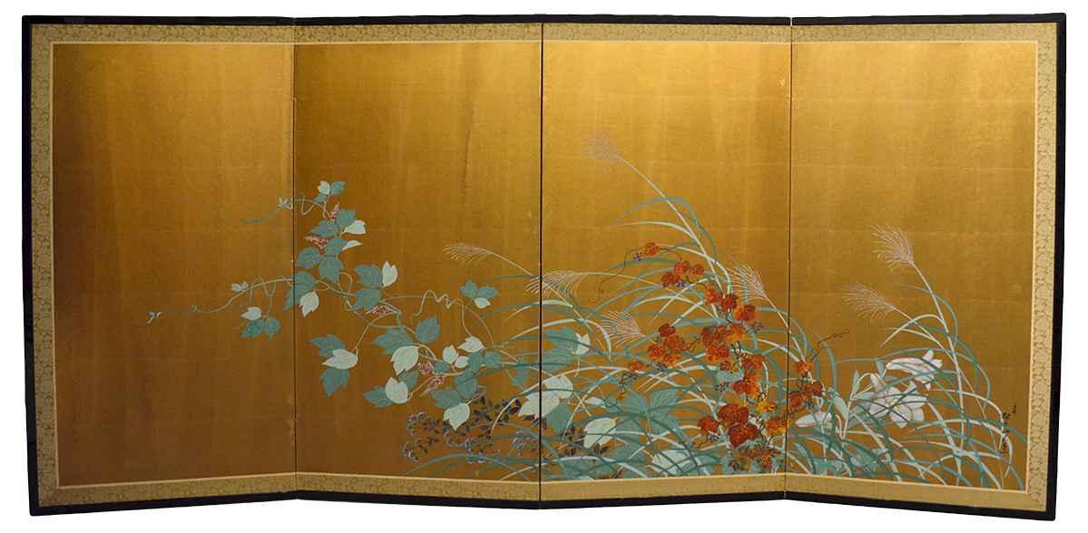 Autumn Grasses by   Shorakusanjin - Masterpiece Online