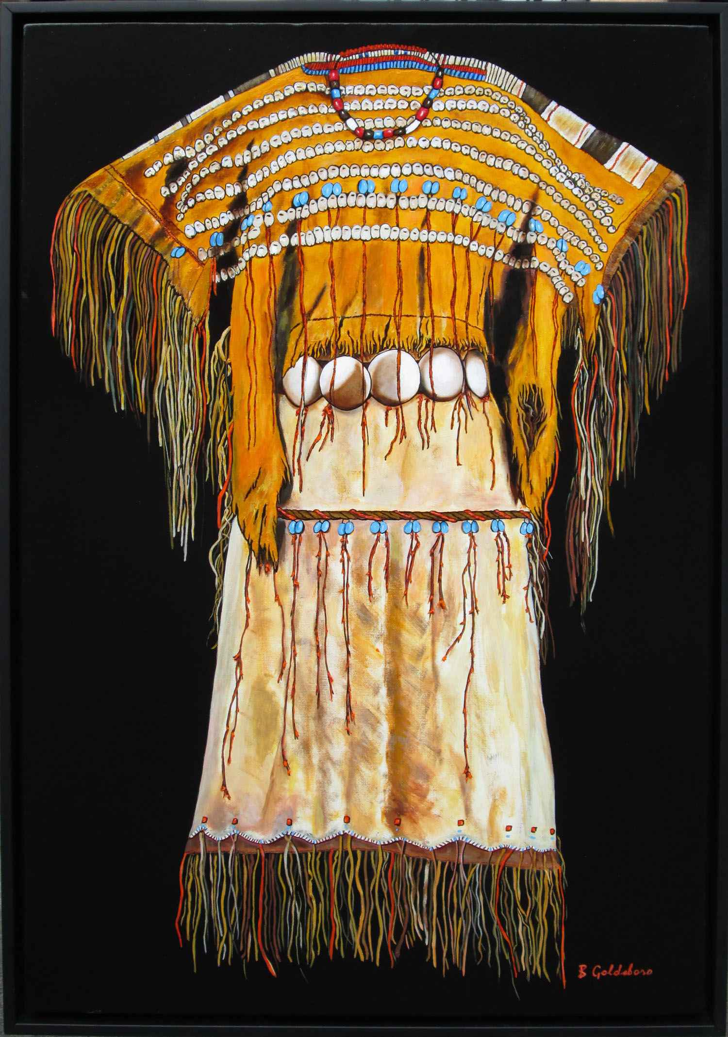 Cheyenne Fringed Dress by  Bobby Goldsboro - Masterpiece Online