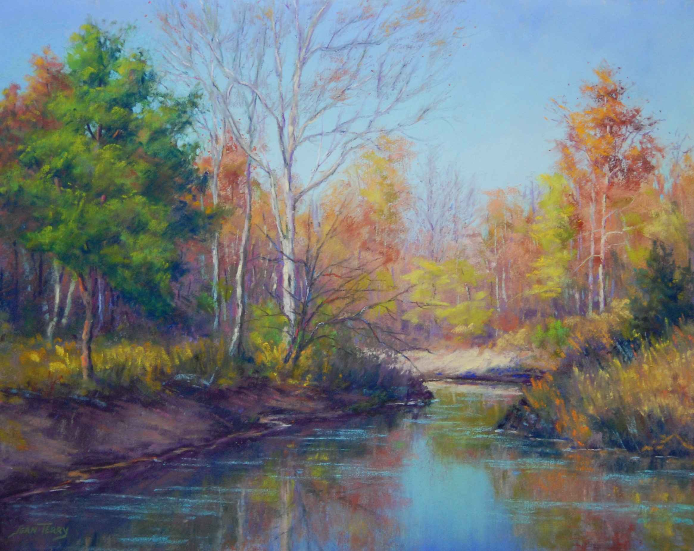 Silence Is Golden by  Jean Terry - Masterpiece Online