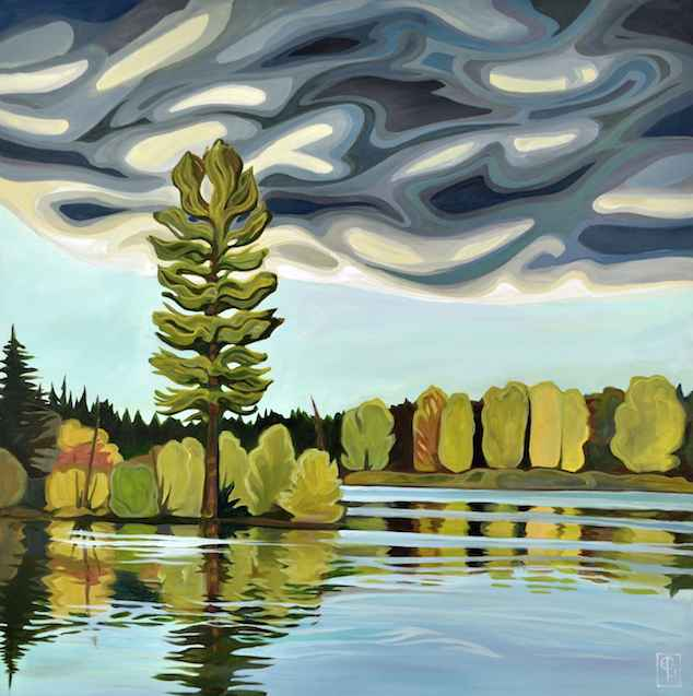 Amicable Storm by  Erica Hawkes - Masterpiece Online