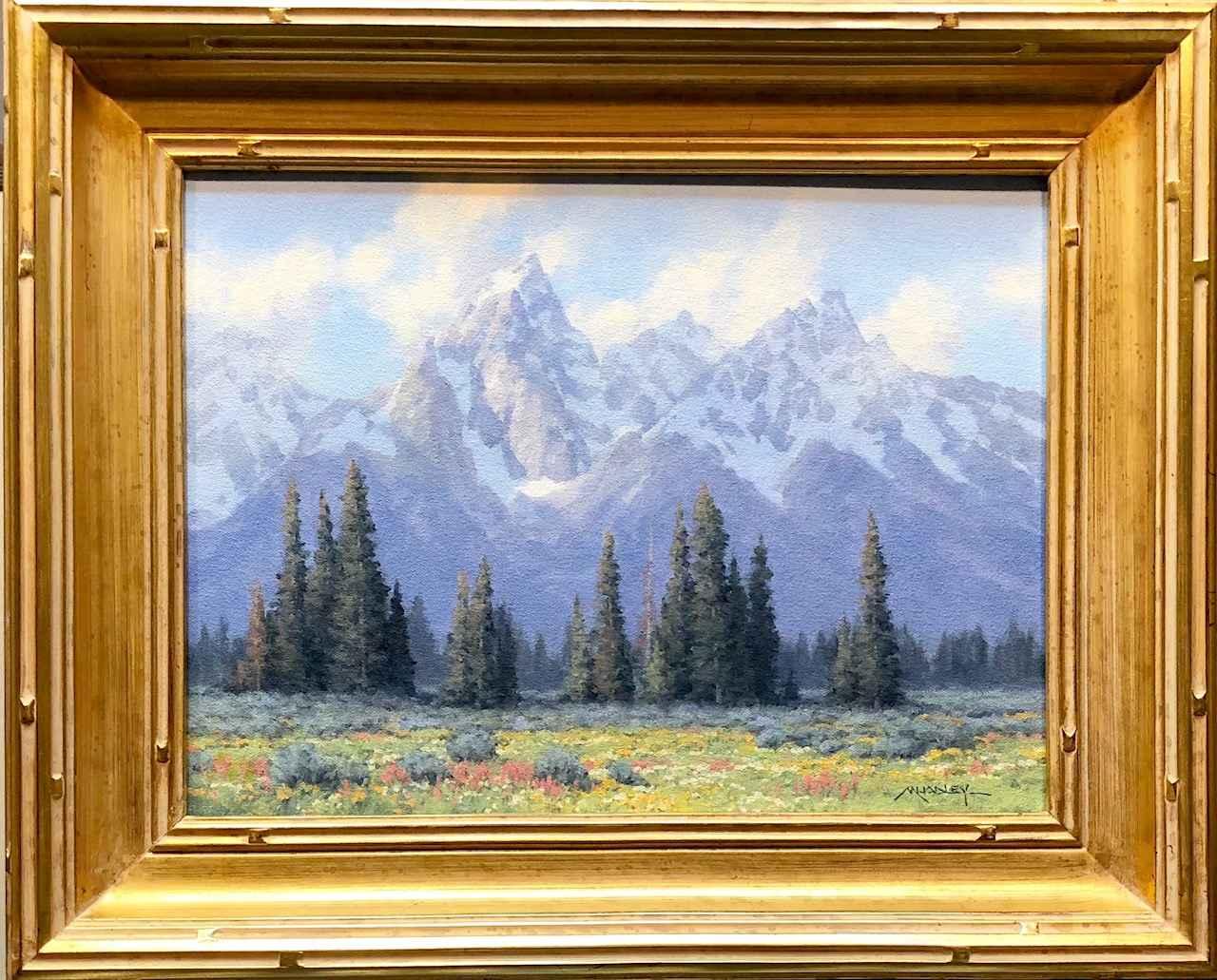 Teton Tapestry by  Michael Hadley - Masterpiece Online