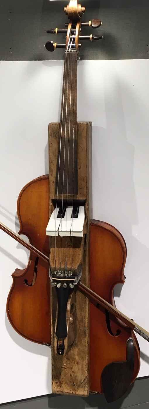 Plane Box Violin by  Hans Veenvliet - Masterpiece Online