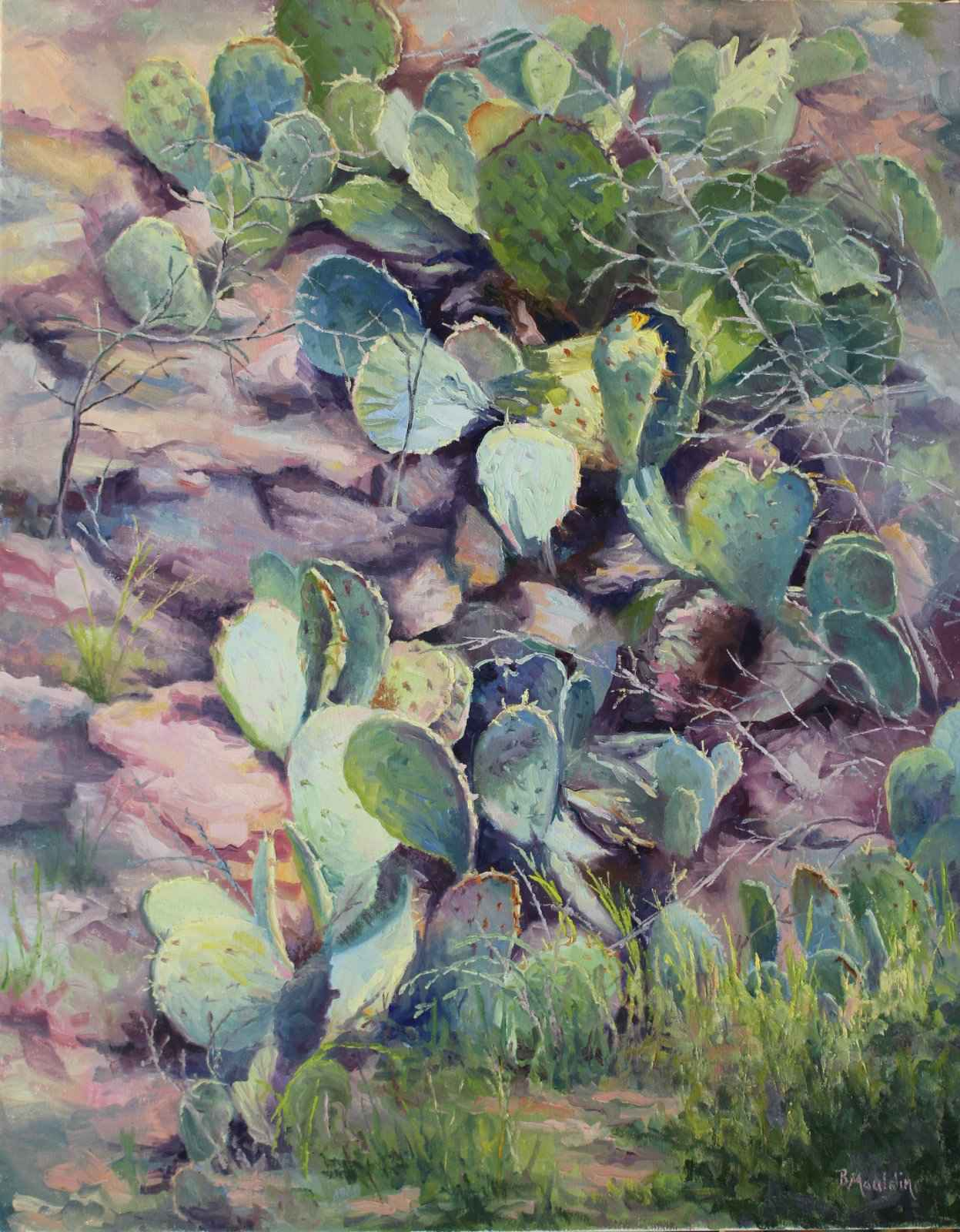 Rooted in Rock by  Barbara Mauldin - Masterpiece Online