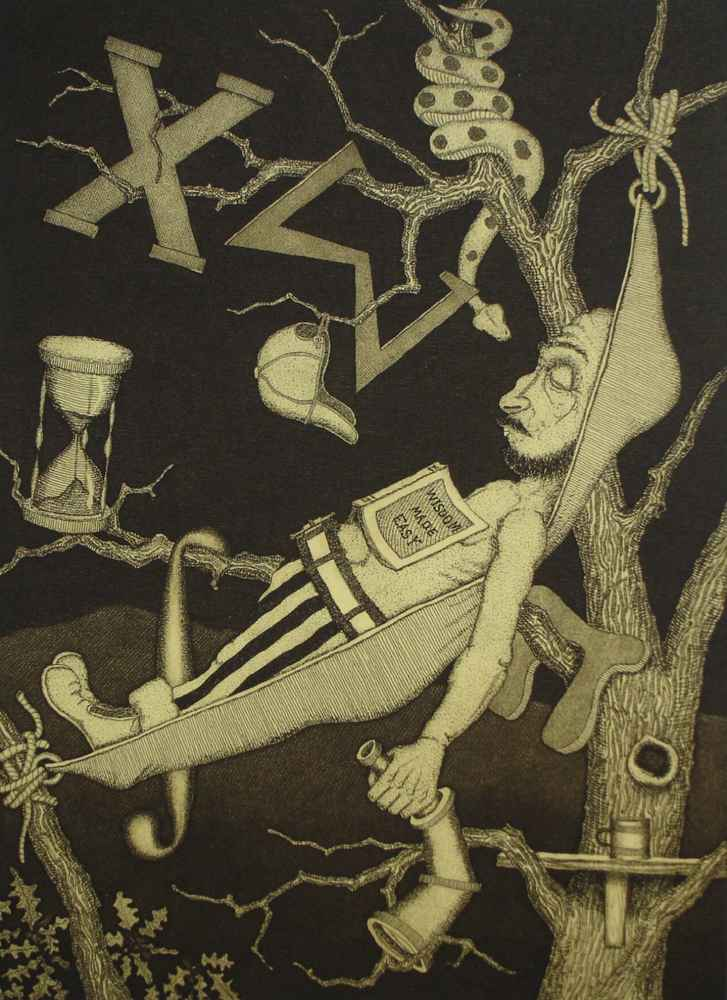 Knowledge Seeker on b... by  John D. Gall - Masterpiece Online