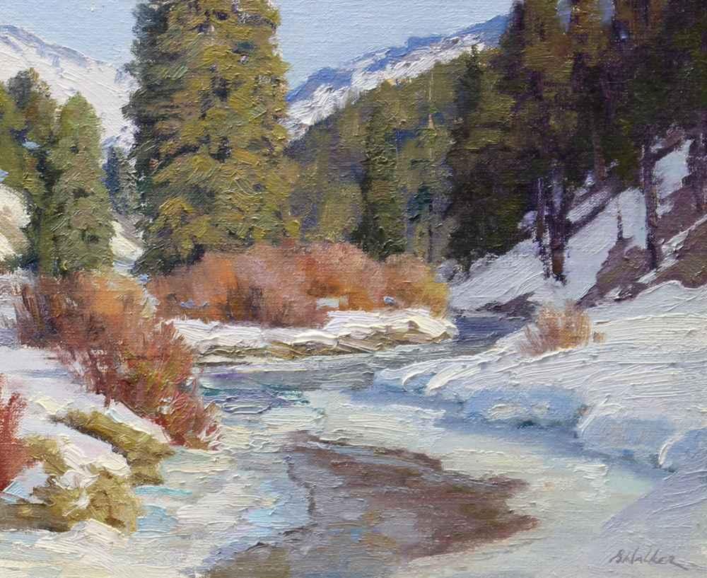 Pine Creek  by  Bart Walker