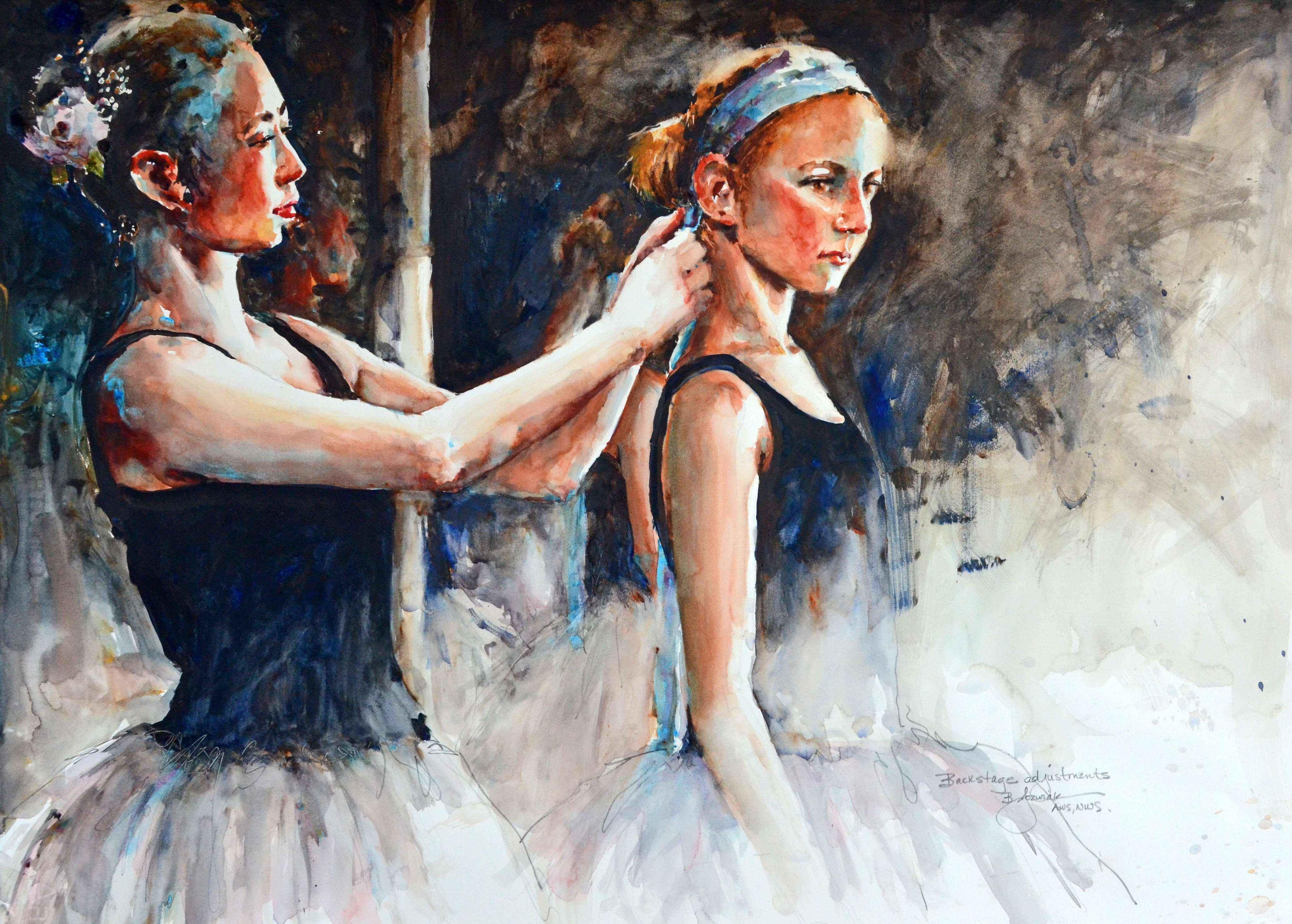 Backstage Adjustments by  Bev Jozwiak - Masterpiece Online