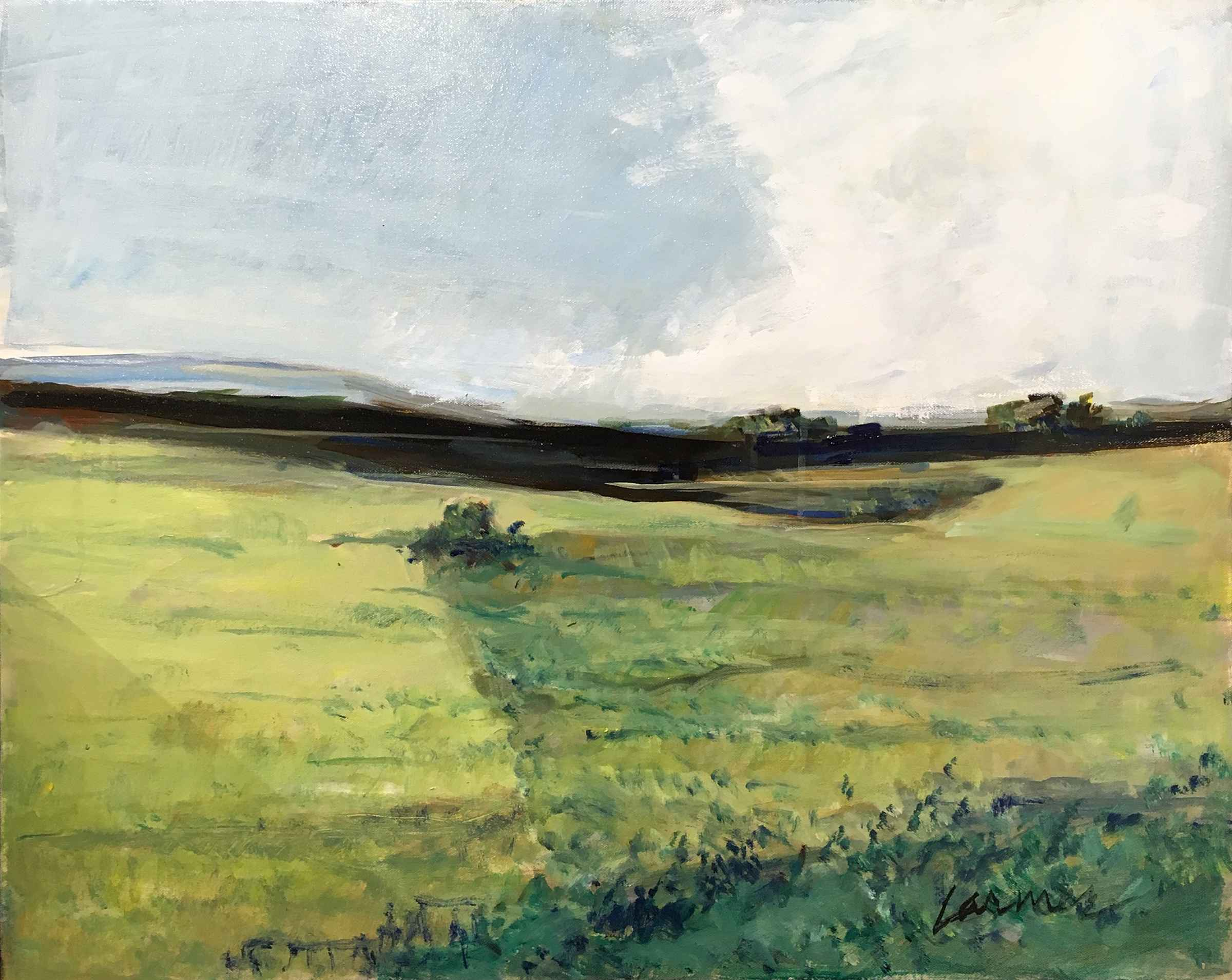 New Prairie by  Oscar Larmer - Masterpiece Online
