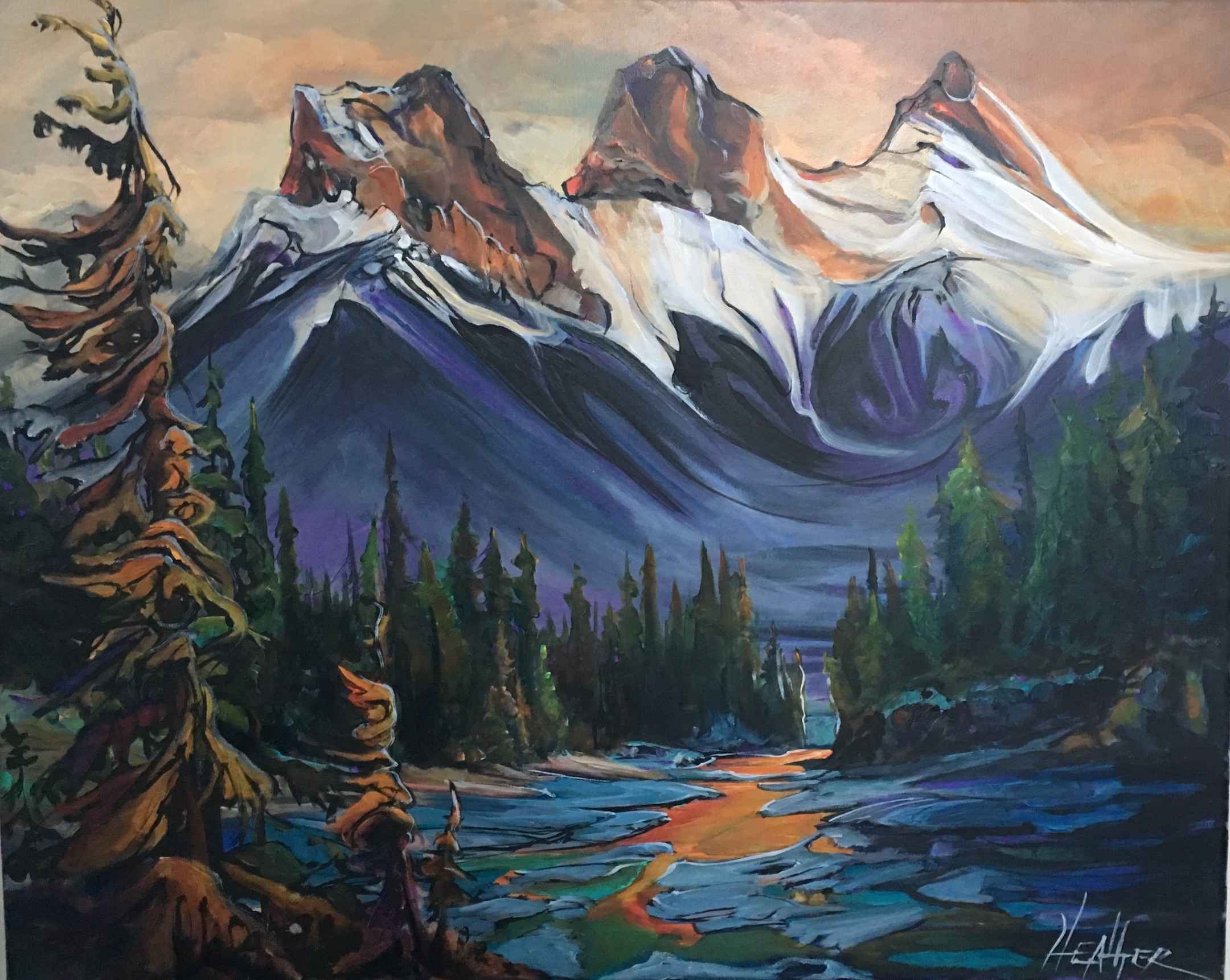 Mountain Muse by  Heather Pant - Masterpiece Online