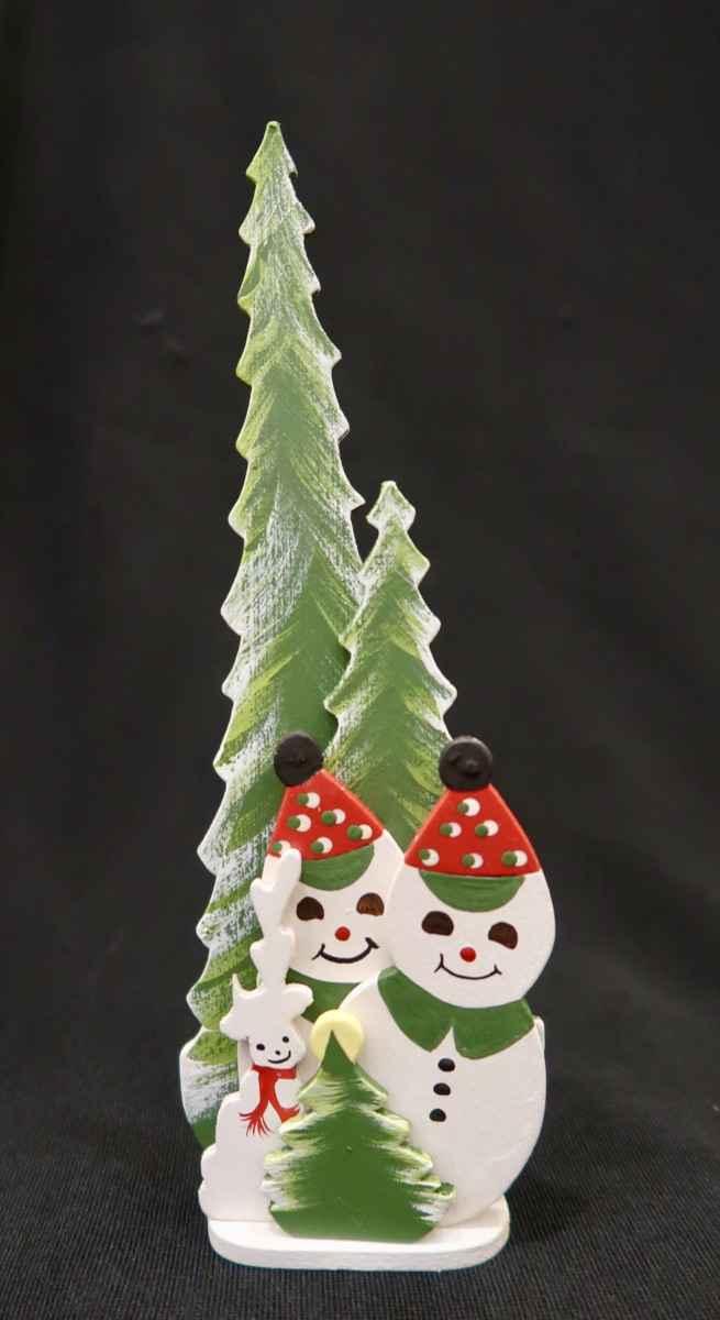 Emgee_Mr. & Mrs. Snow... by Mrs. Martha Greenwell (1920-2014) - Masterpiece Online