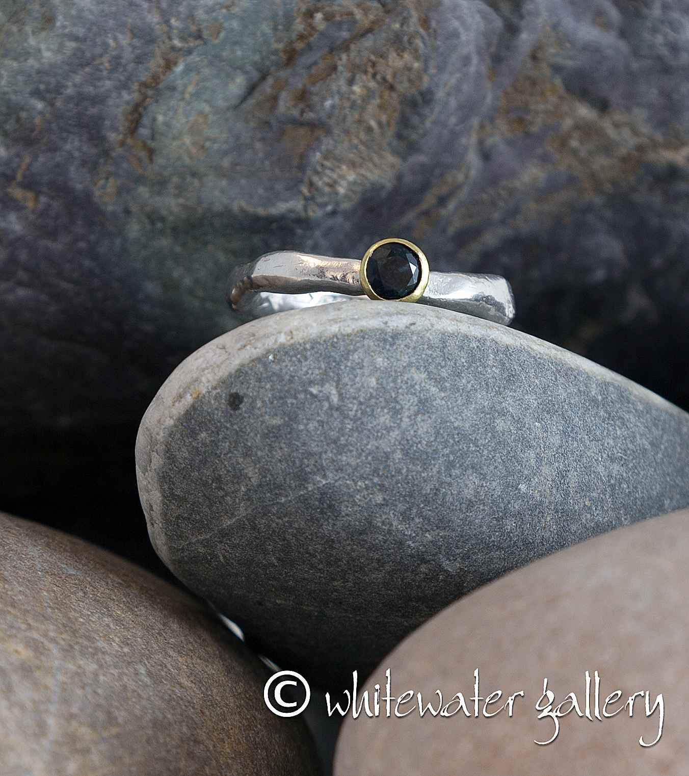 Rustic Ring 18k Gold ... by  Marsha Drew - Masterpiece Online