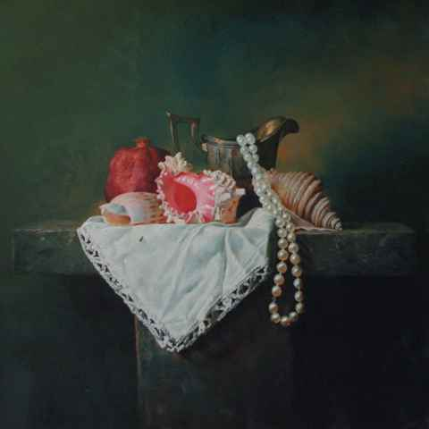 Shells, Pearls, and P... by  Alexei Antonov - Masterpiece Online