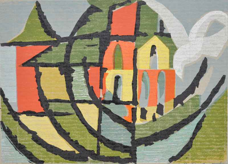 World (abstract) by  Bernard Brussel-Smith (1914-1989) - Masterpiece Online