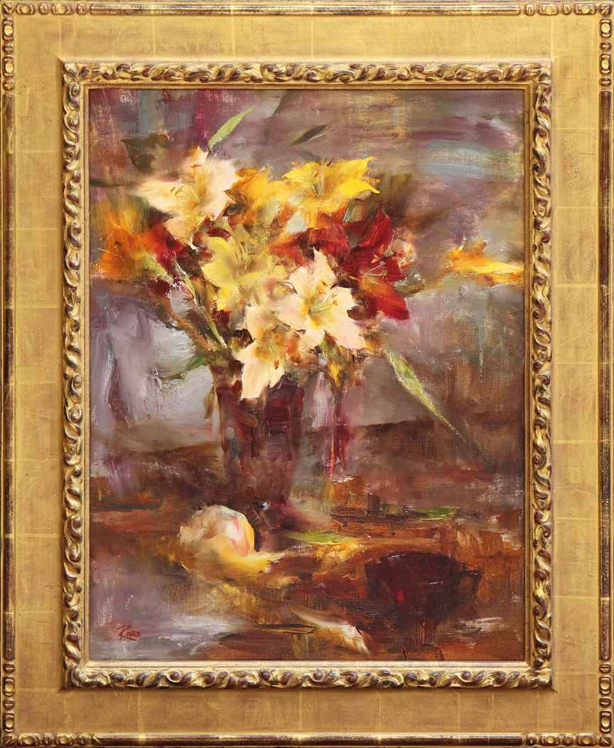 Daylilies by Ms. Laura Robb - Masterpiece Online