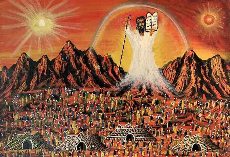 Moses & 10 Commandmen... by  Gabriel Cohen - Masterpiece Online
