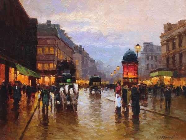 Paris Street by  Alexander Popoff  - Masterpiece Online