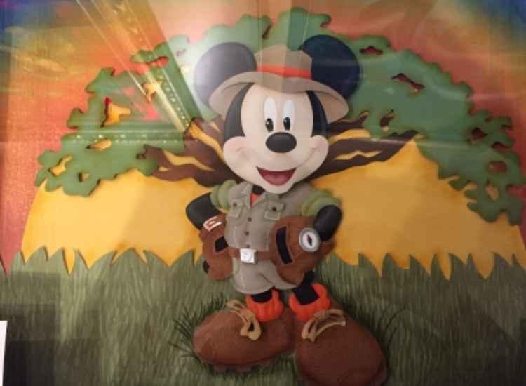 Safari Mickey by  Karin Arruda - Masterpiece Online