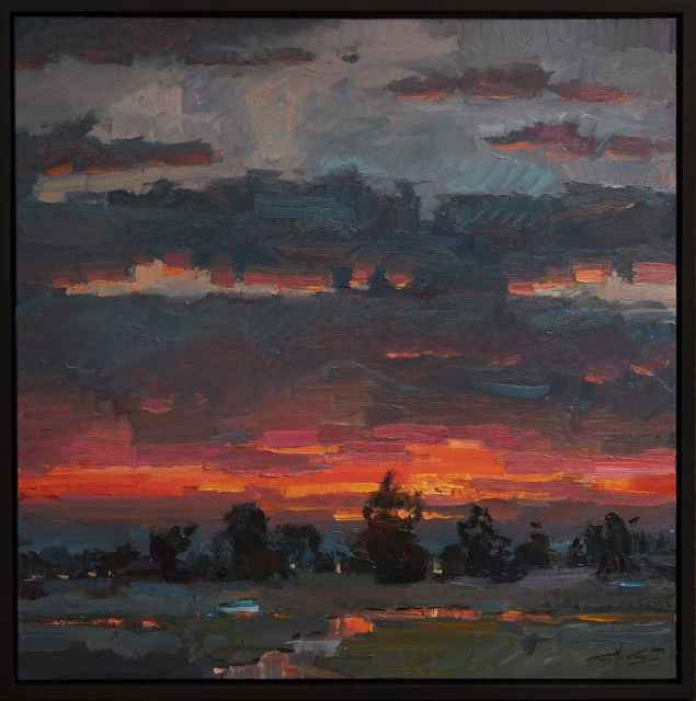 Evening Flame by  Trey McCarley - Masterpiece Online