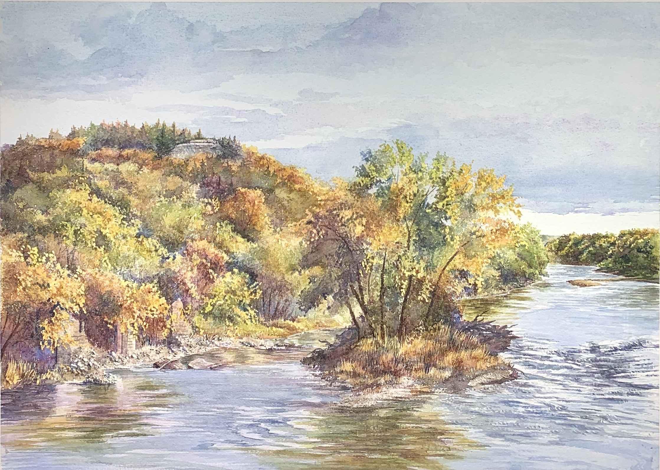 Smoky Hill River by  Ralph Fontenot - Masterpiece Online