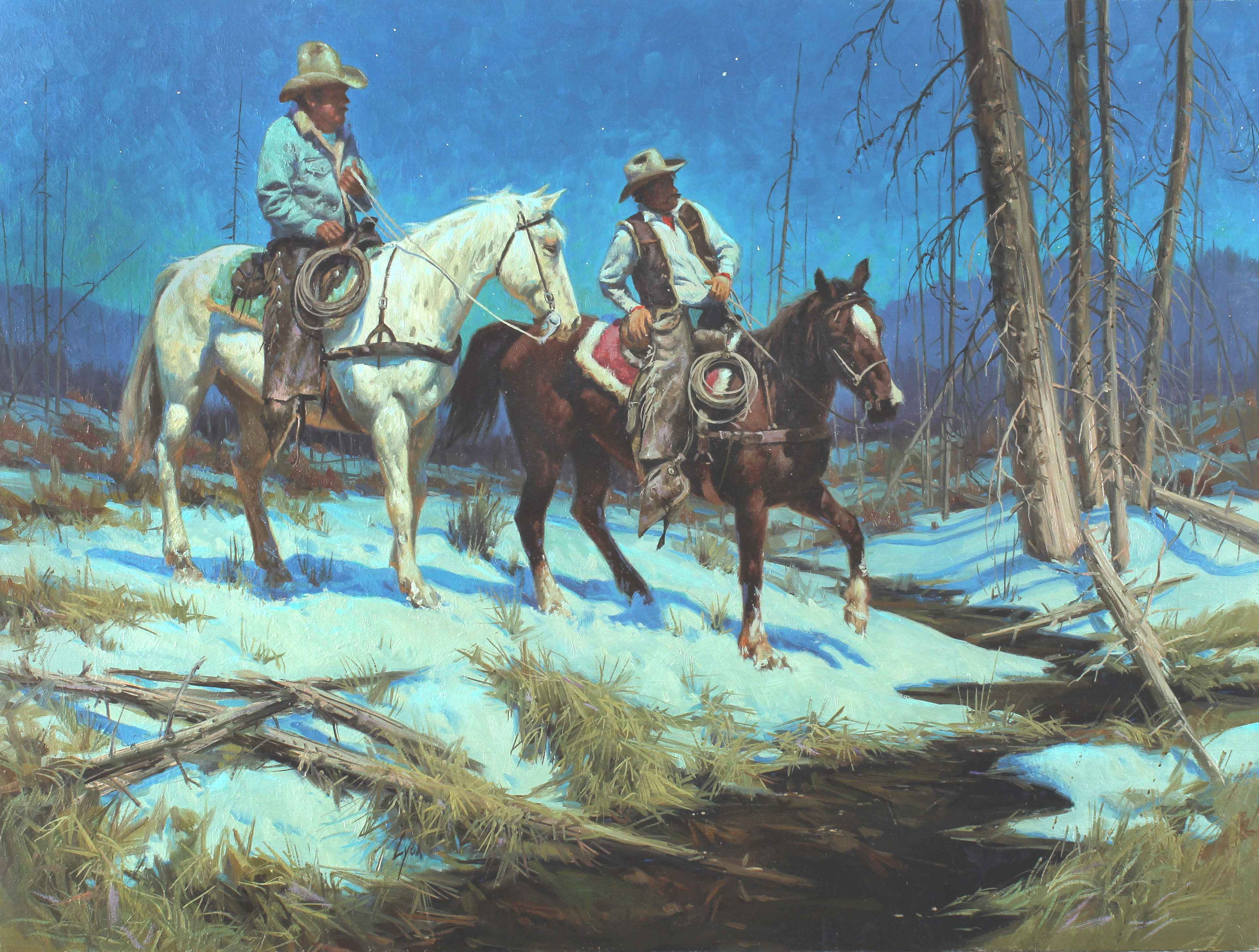 Hunting Guide  by  Harold Lyon - Masterpiece Online