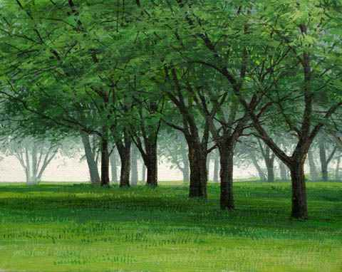 Foggy Grove by  Michael Wheeler - Masterpiece Online