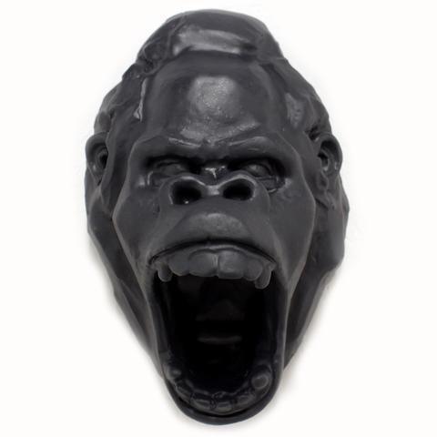 Gorilla Head (Gray) by  Laurence Vallieres - Masterpiece Online