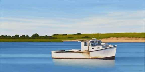 Workboat #2 by  Jim Holland - Masterpiece Online