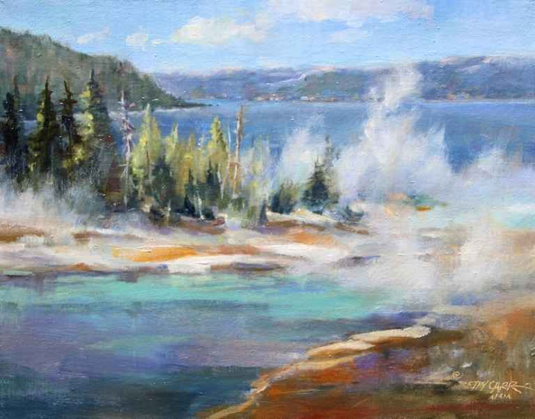 Jackson Thermal Pool  by  Betty Carr