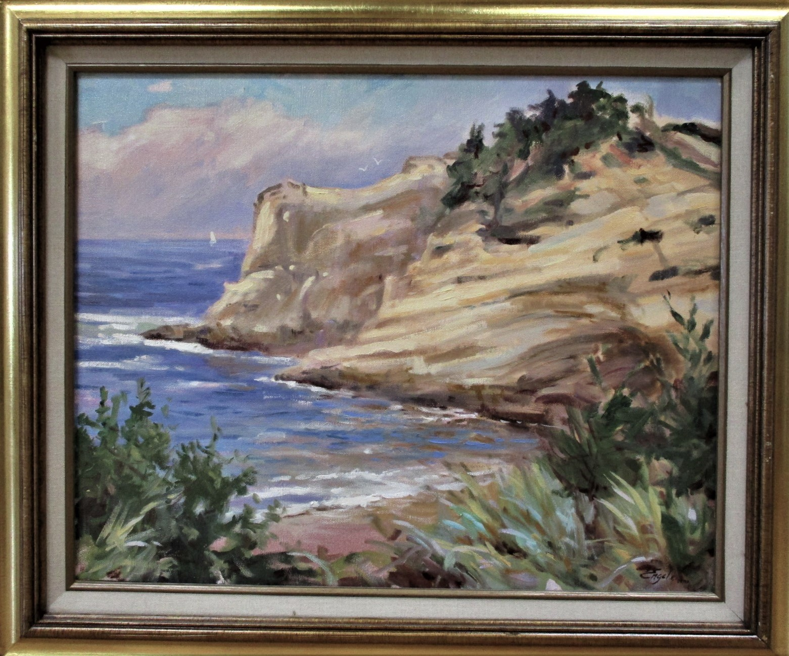 Title Unknown (sea wi... by  Sharon Engel - Masterpiece Online