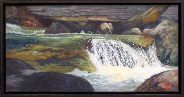 Waterfalls, Sicamous ... by  Alain Gagne - Masterpiece Online