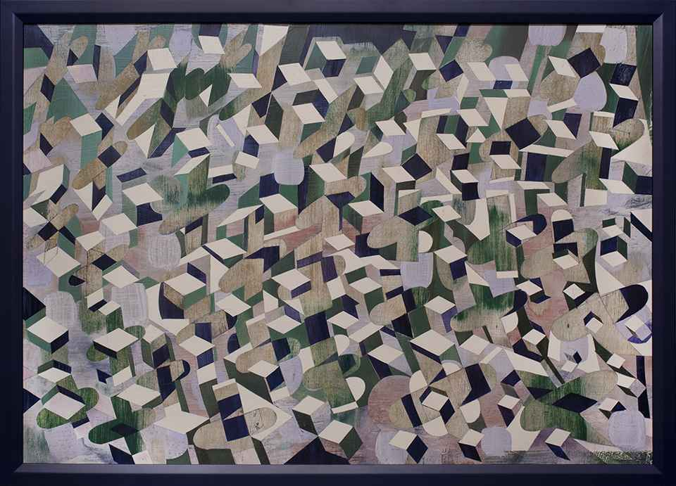 Pattern of Cubes by Robert Wymer