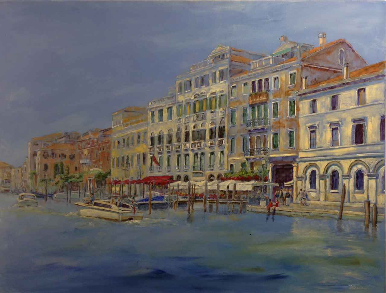 Dreaming of Venice by  Nadia Lassman - Masterpiece Online