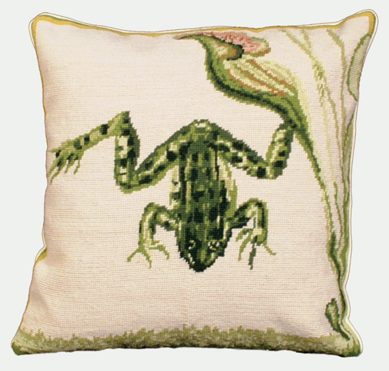 Frog Pillow by    - Masterpiece Online