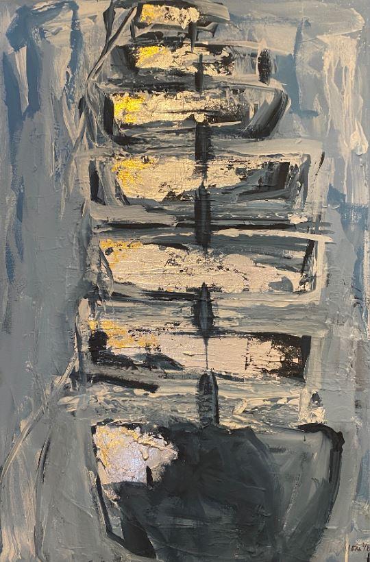 Blue Schooner by  Steve Lyons - Masterpiece Online