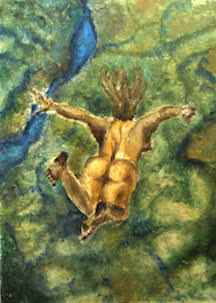 Free Falling by  Salyn May Yancey - Masterpiece Online