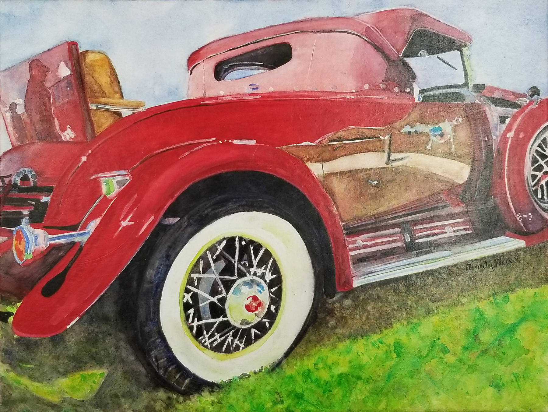 Waxed Cadillac by  Marty Plevel - Masterpiece Online