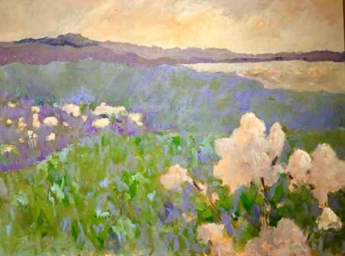 Vineyard Walk by  Julie Friedman - Masterpiece Online