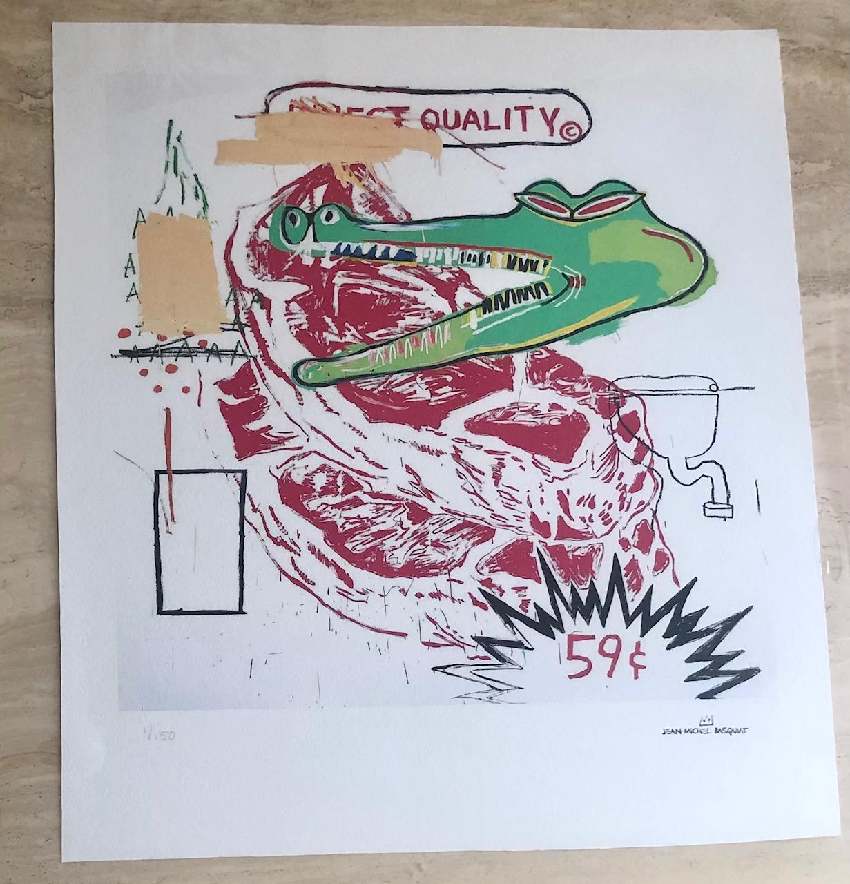 Untitled (Collaborati... by  Jean-Michel Basquiat - Masterpiece Online