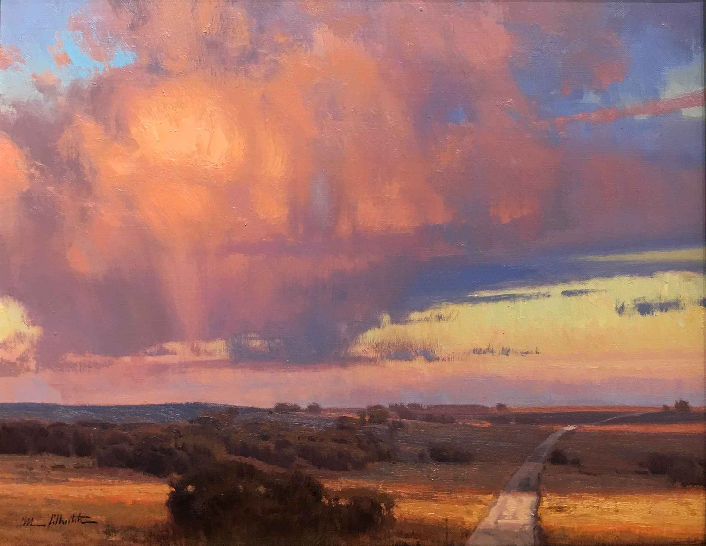 Small Roads, Large Sp... by  Michael Albrechtsen - Masterpiece Online