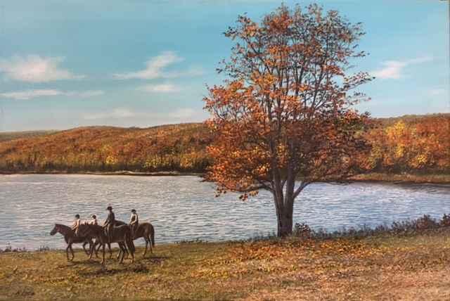Castle Glen by  Henry Lobo - Masterpiece Online